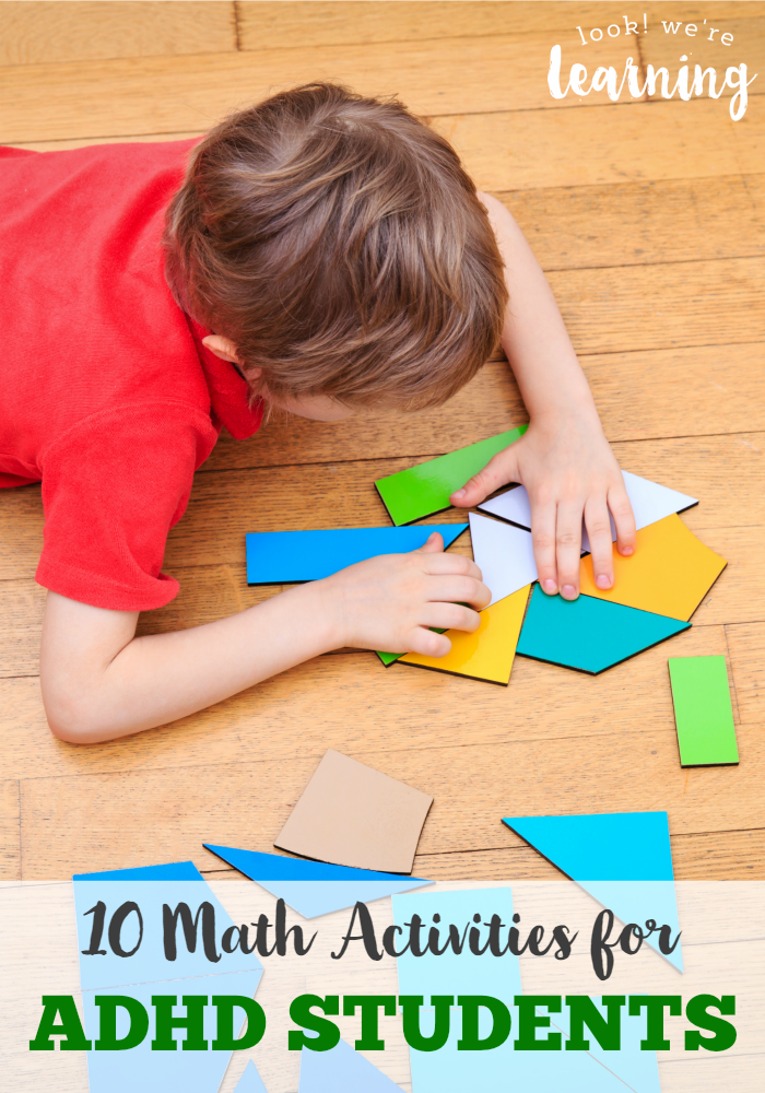 10 Math Activities For Adhd Students Kid Blogger Network