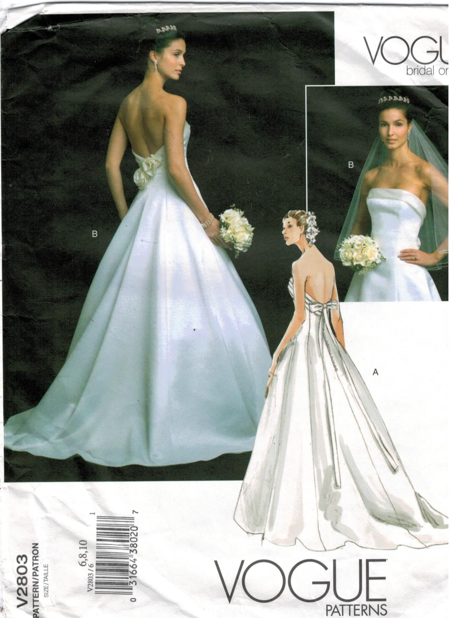 Planning A Summer Wedding This Beautiful Gown From Vogue Patterns Is Perfect For Your Special