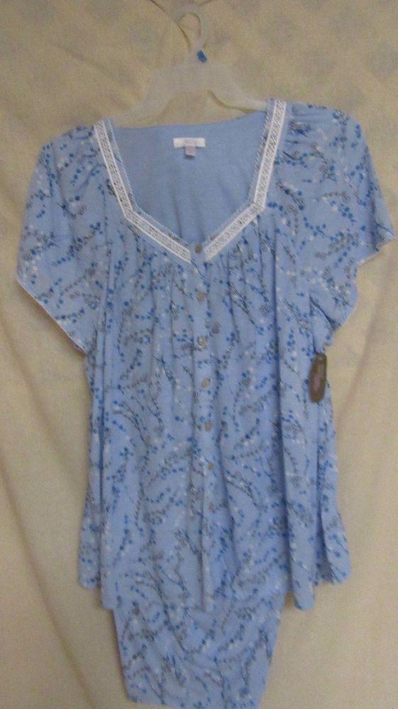 NWT Secret Treasures Women's Size Sleep Shirt Size L-XL New