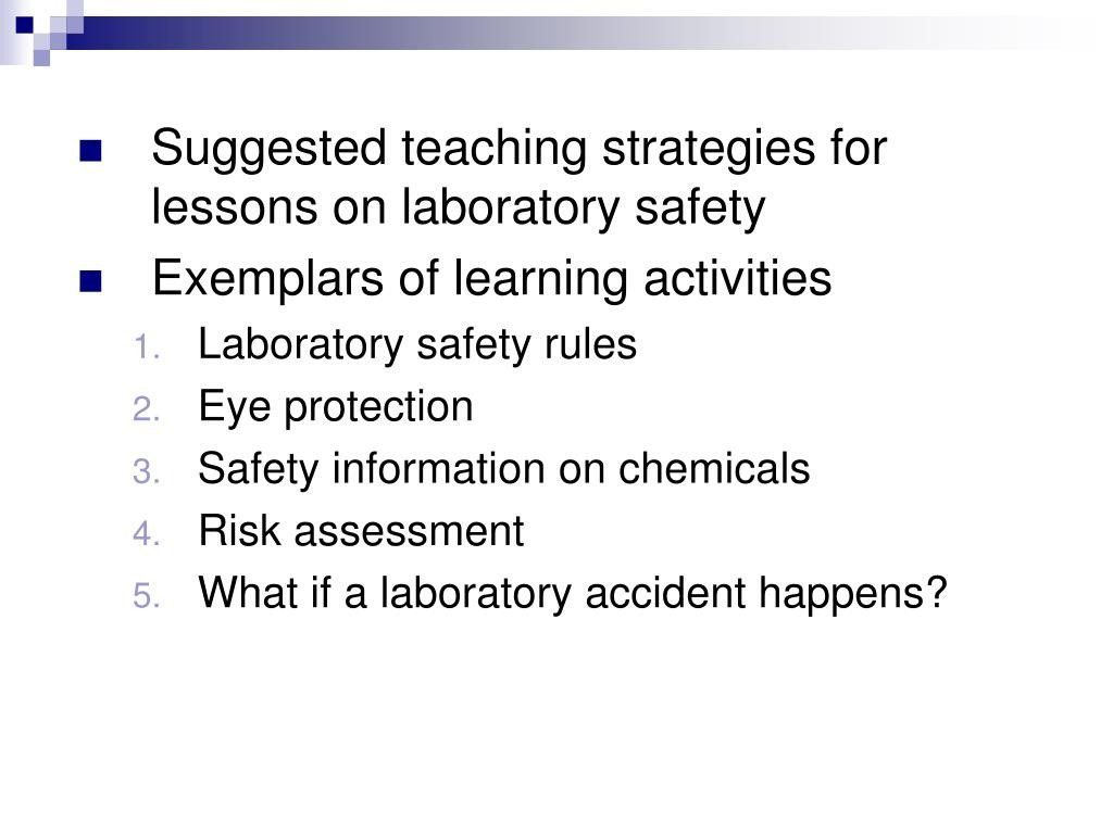 Lab Safety Worksheet Answers Laboratory Safety Activities Franklin In 2020 Lab Safety Kids Worksheets Printables Teaching Strategies