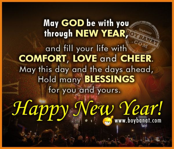 Meanigful Christian Quote Happy New Year Funny Picture
