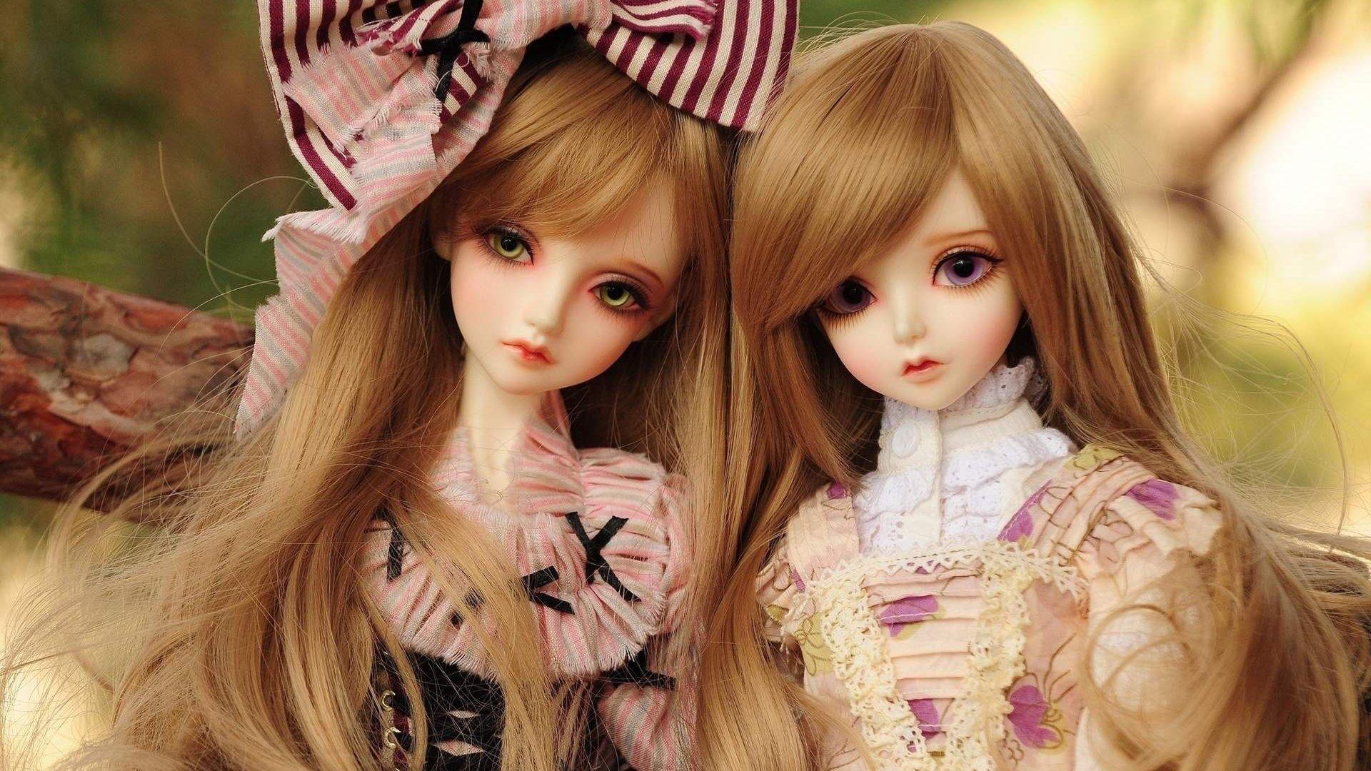 3d Wallpaper Barbie Doll