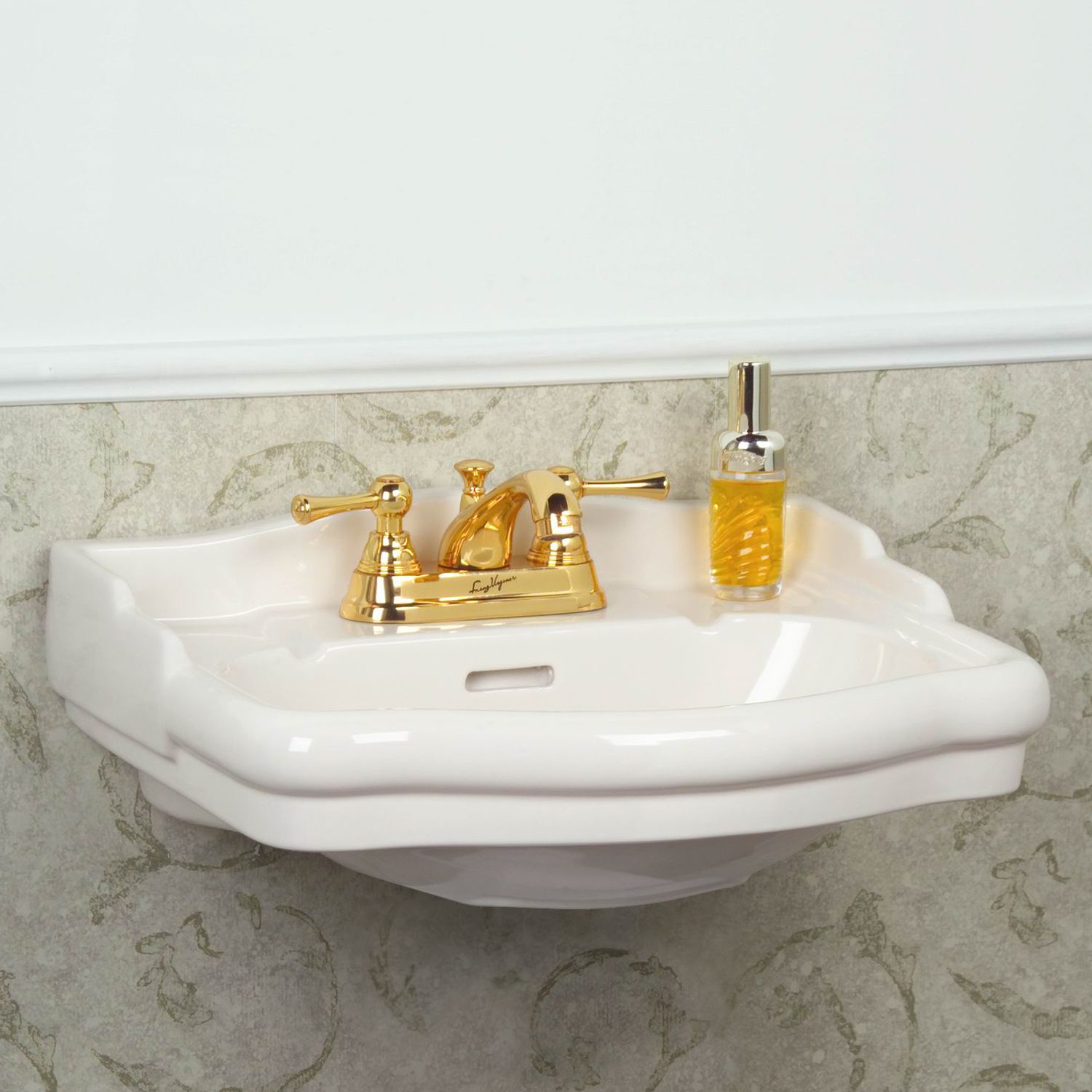 Small wall mount sink with towel bar for bathroom - Small Wall Mount Sink With Towel Bar For Bathroom 9