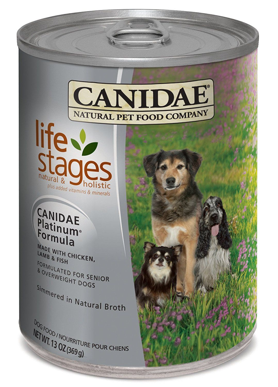 Canidae Life Stages Platinum Senior And Overweight Canned Dog Food