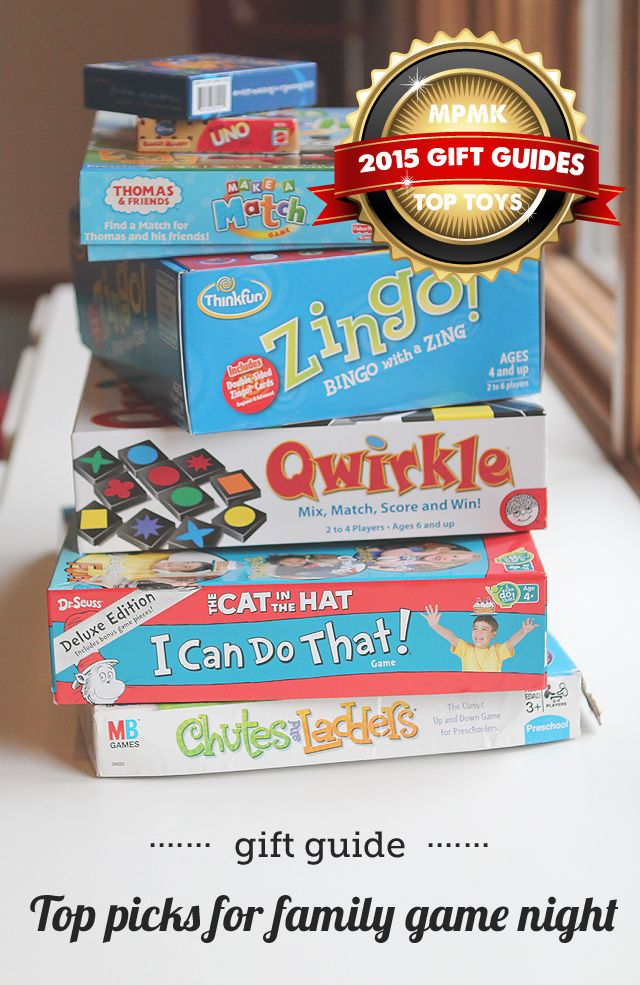 Mpmk Gift Guide Top Picks For Family Game Night Munchkins