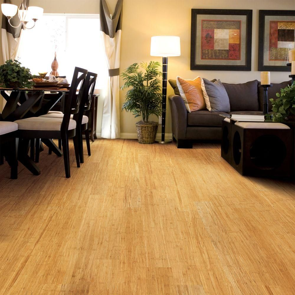 Home Legend Wire Brushed Strand Woven Lyndon 3 8 In T X 3 7 8 In W X 36 1 4 In Length Solid Bamboo Flooring 23 41 Sq Ft Case Hl213 Flooring Home Engineered Bamboo Flooring
