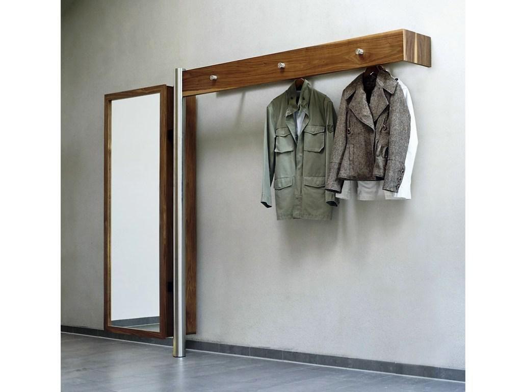 Modern Coat Rack Part - 18: Inspiring Coat Rack For Wall Mounting Design Gallery