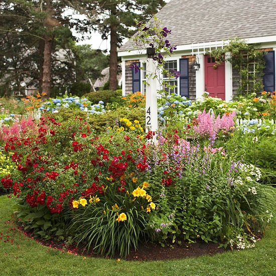 13 Great Red And Yellow Garden Combos With Images Cottage