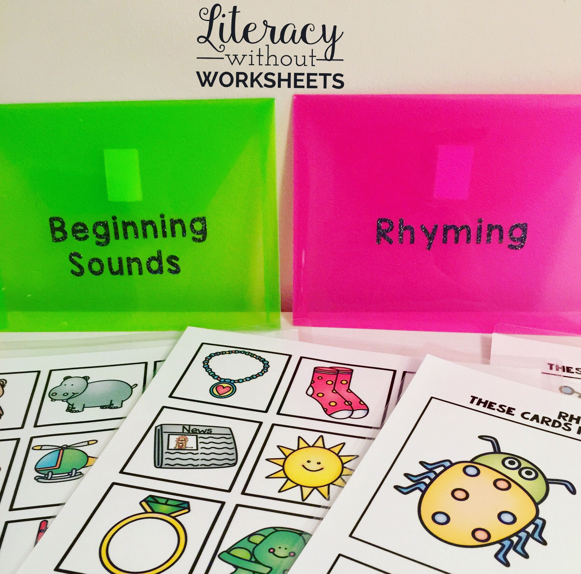 Phonemic Awareness Activities Bundle