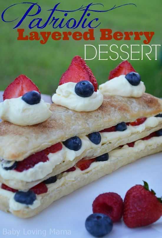 What better way to enjoy this upcoming Labor Day weekend than with a Patriotic Layered Berry Dessert baked in your very own Tim O'Brien Homes kitchen? #labordaydesserts What better way to enjoy this upcoming Labor Day weekend than with a Patriotic Layered Berry Dessert baked in your very own Tim O'Brien Homes kitchen? #labordaydesserts