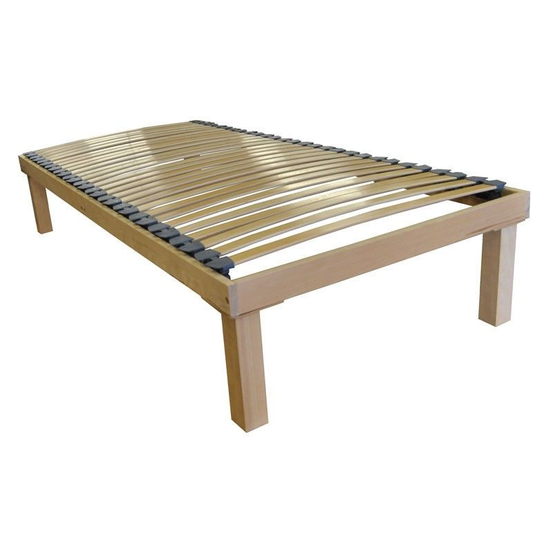Premium Second Generation Single Row Floor Standing Slatted Bed