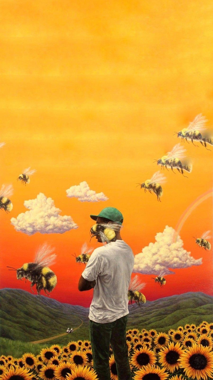 10.99 Tyler The Creator Flower Boy Poster Hip Hop