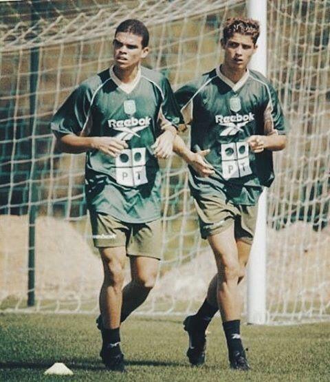 4f316ee30 Pepe   Ronaldo at Sporting Lisbon