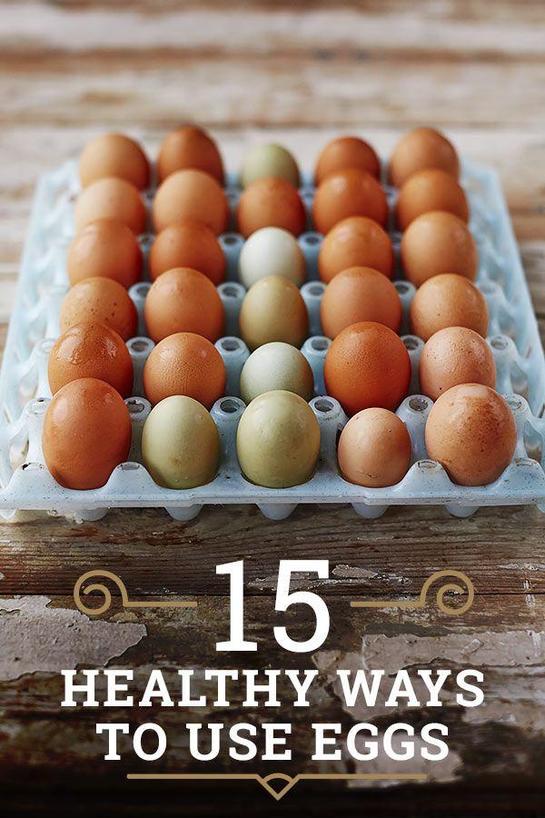 15 healthy ways to use eggs. Jamie's Everyday Super Food