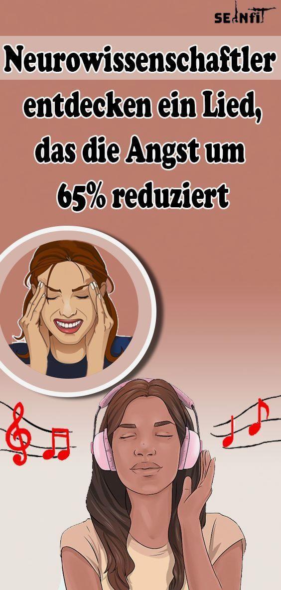 Neurowissenschaftler entdecken ein Lied, das die Angst um 65% reduziert #fitness #gesundheit #gesund...