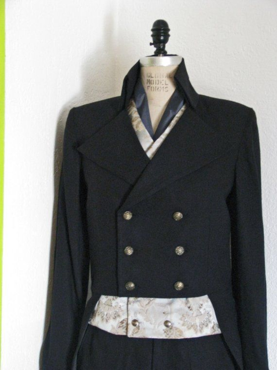 c271ffd8e472 Steampunk Tuxedo with Tailcoat, Pant, Vest, and Cravat | Charming Ms ...