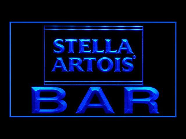 Stella Artois Bar Sign Neon Beer Bar Cocktail Pinterest Bar