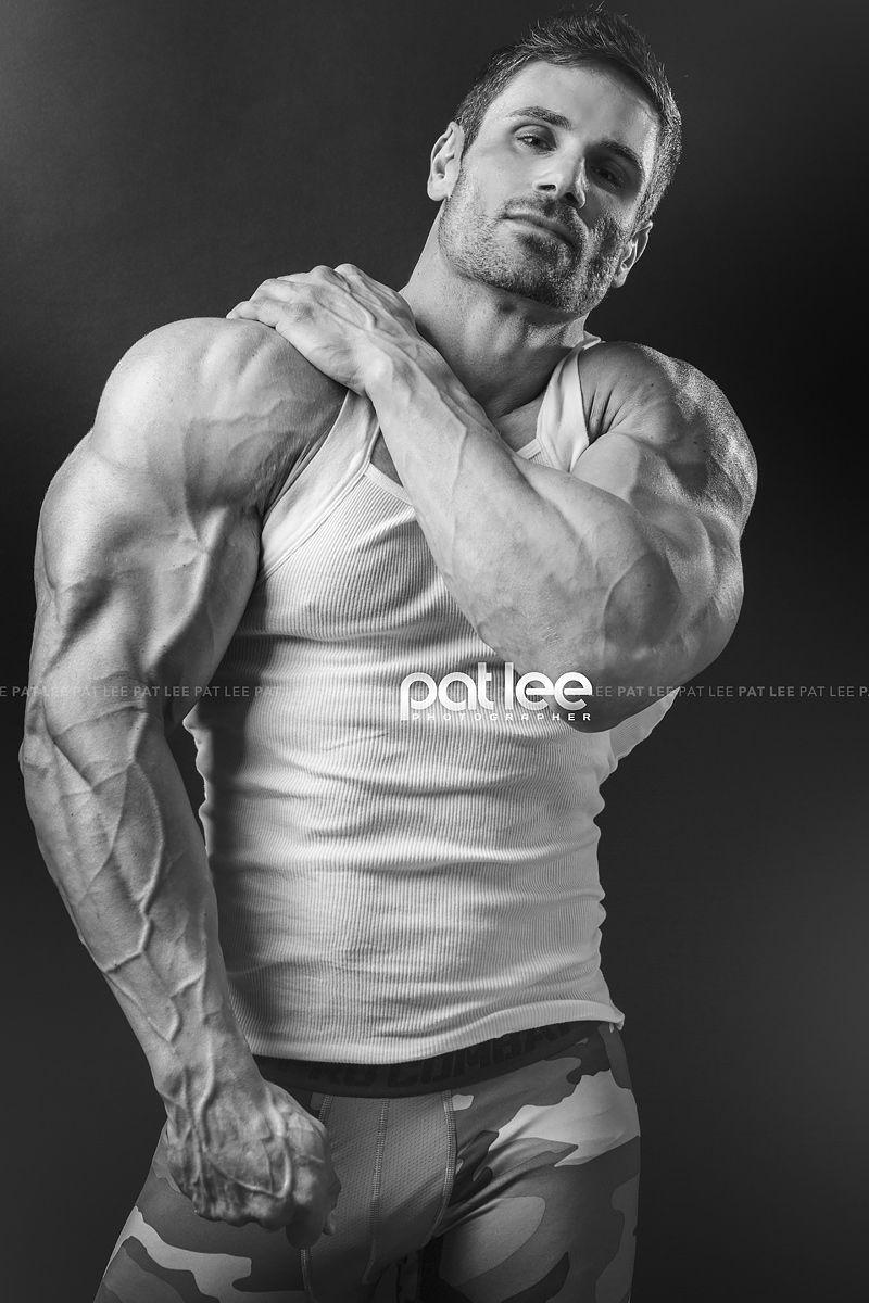 Bodybuilder Wallpaper With Quotes Caylan Hughes Biceps Muscle Men Pat Lee Muscular Men