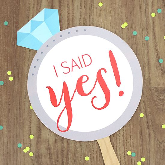You Ll Crush On I Said Yes Free Printable Signs Wedding Signs I Said Yes Engagement Signs But lately i've been thinking about whether that was the right thing to do. wedding signs i said yes engagement signs