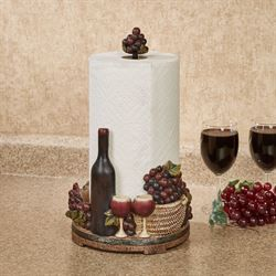 Wine Picnic Kitchen Paper Towel Holder #papertowelholders