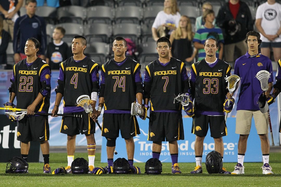 Image result for iroquois national lacrosse team