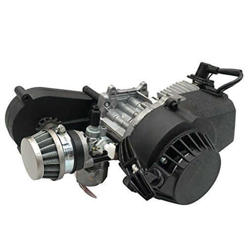 TDPRO 2 Stroke Engine Motor with Gear Box for 47cc 49cc 50cc Mini