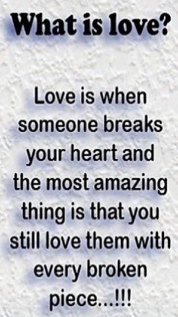 love makes me uncomfortable