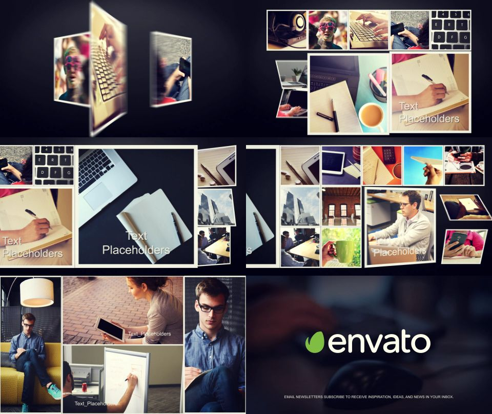Videohive SlideShow Pack 4 In 1 Free After Effects Templates