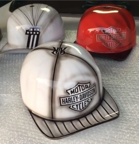 Pin On Airbrushed Motorcycle Helmets
