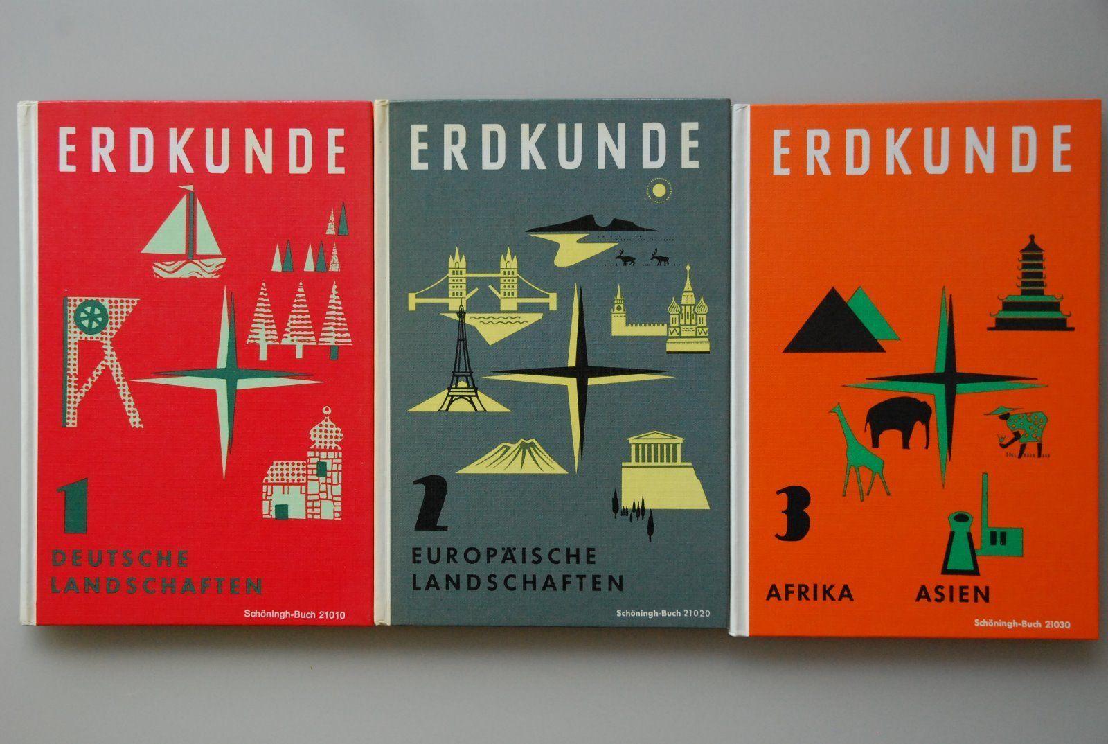 Erdkundebücher, Schöningh Buch, Schulbücher, 1968 | eBay