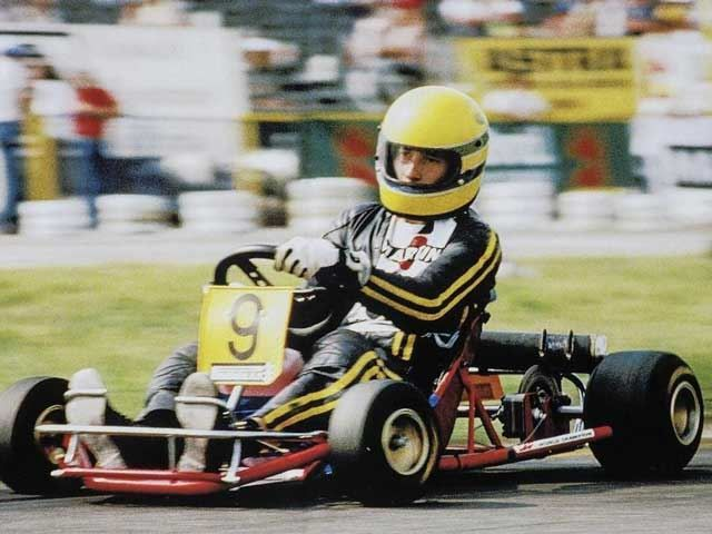 One Of Ayrton Senna's Actual First Race Vehicles Is Up For Sale, And It's A Kart