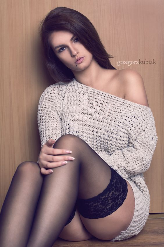 Consider, Hot girls in sweaters and nylons