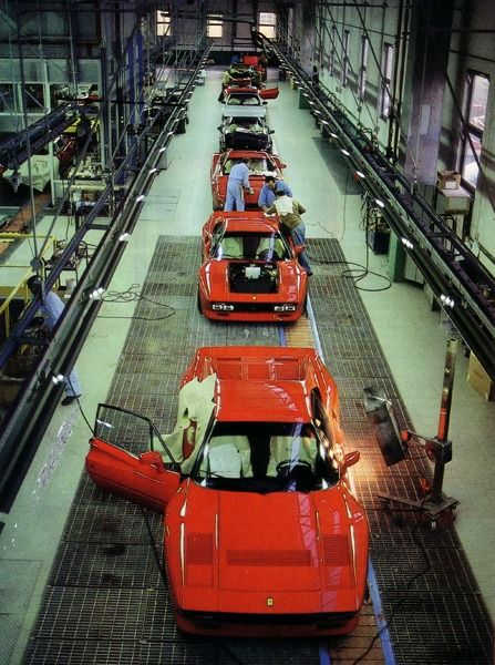 1984 Ferrari 288 GTO Factory