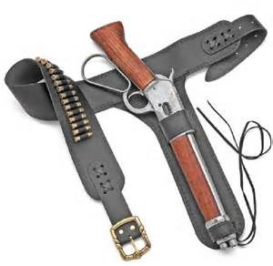 Custom leather holster for the