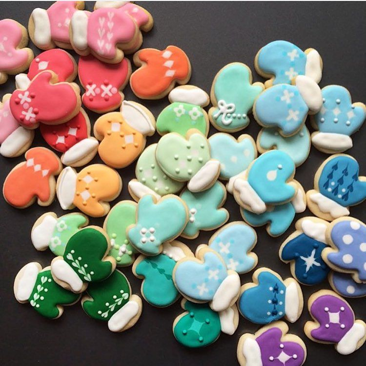 Colorful Christmas Cookies Taste The Rainbow Christmas Cookies