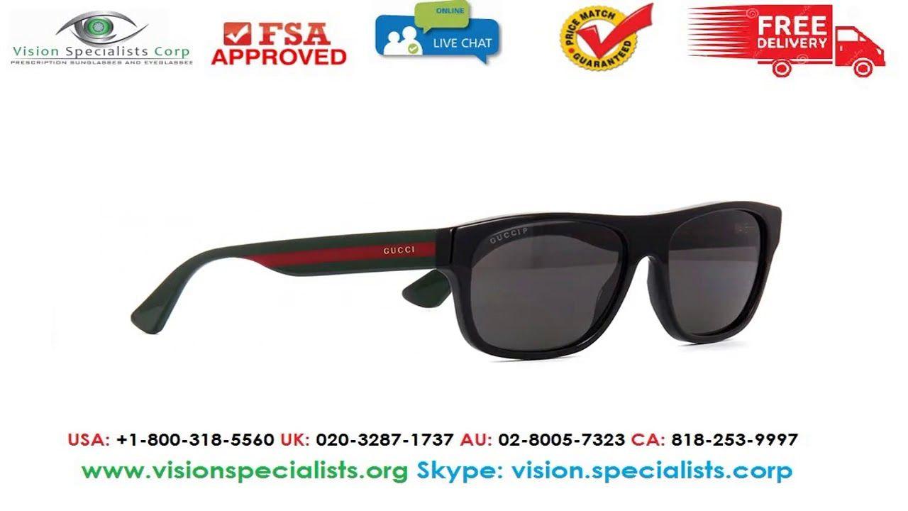 eb5b5ce891 Gucci GG0341S 002 Polarised Sunglasses