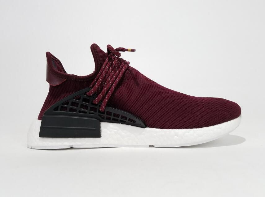 8298d242d Adidas NMD Pharrell Williams Human Race BB0617 Purple Real Boost for Sale 02