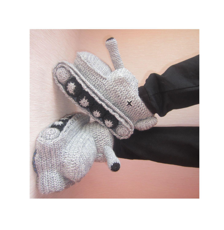 Hand Knit Slippers, Crochet Tank Slippers, Adult Crochet ...