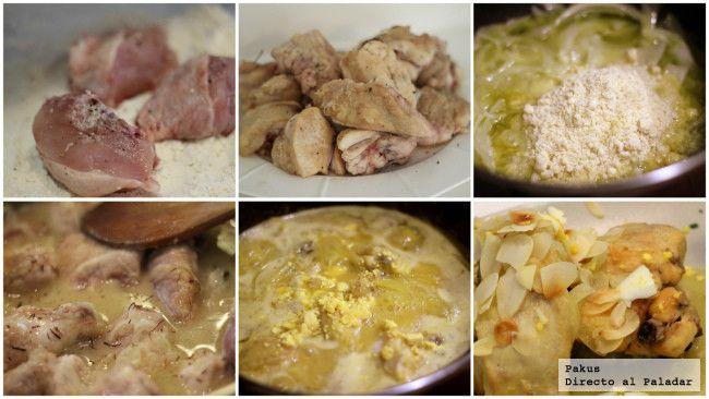 Cómo Hacer Pollo En Pepitoria Casero Y Tradicional Receta Receta Pollo En Pepitoria Receta Pollo En Pepitoria Como Hacer Pollo