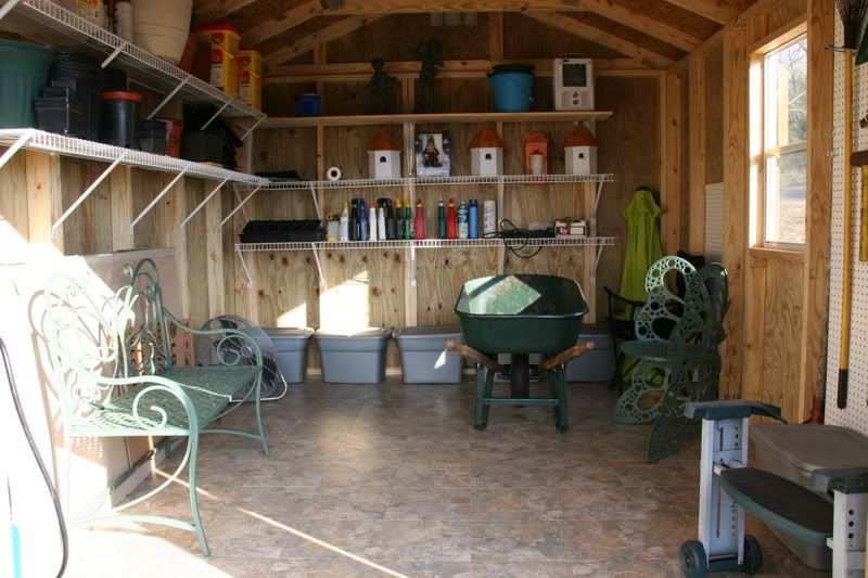 Simple And Minimalist Shed Interior Design: Clean Shed Interior Design U2013  NYgeekcast