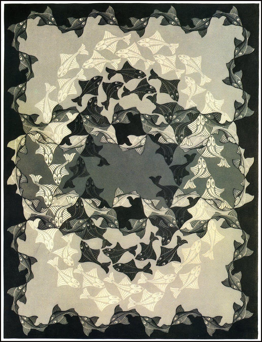 M C Escher | Optical Illusions, Op Art | Pinterest | Ilusiones ...