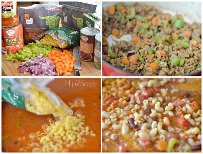 How to make vegetarian pasta fagioli soup recipe