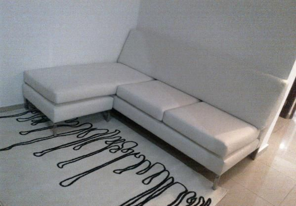 Oferta sofa seccional blanco nuevo sof modular en for Sofas rinconeras piel ofertas