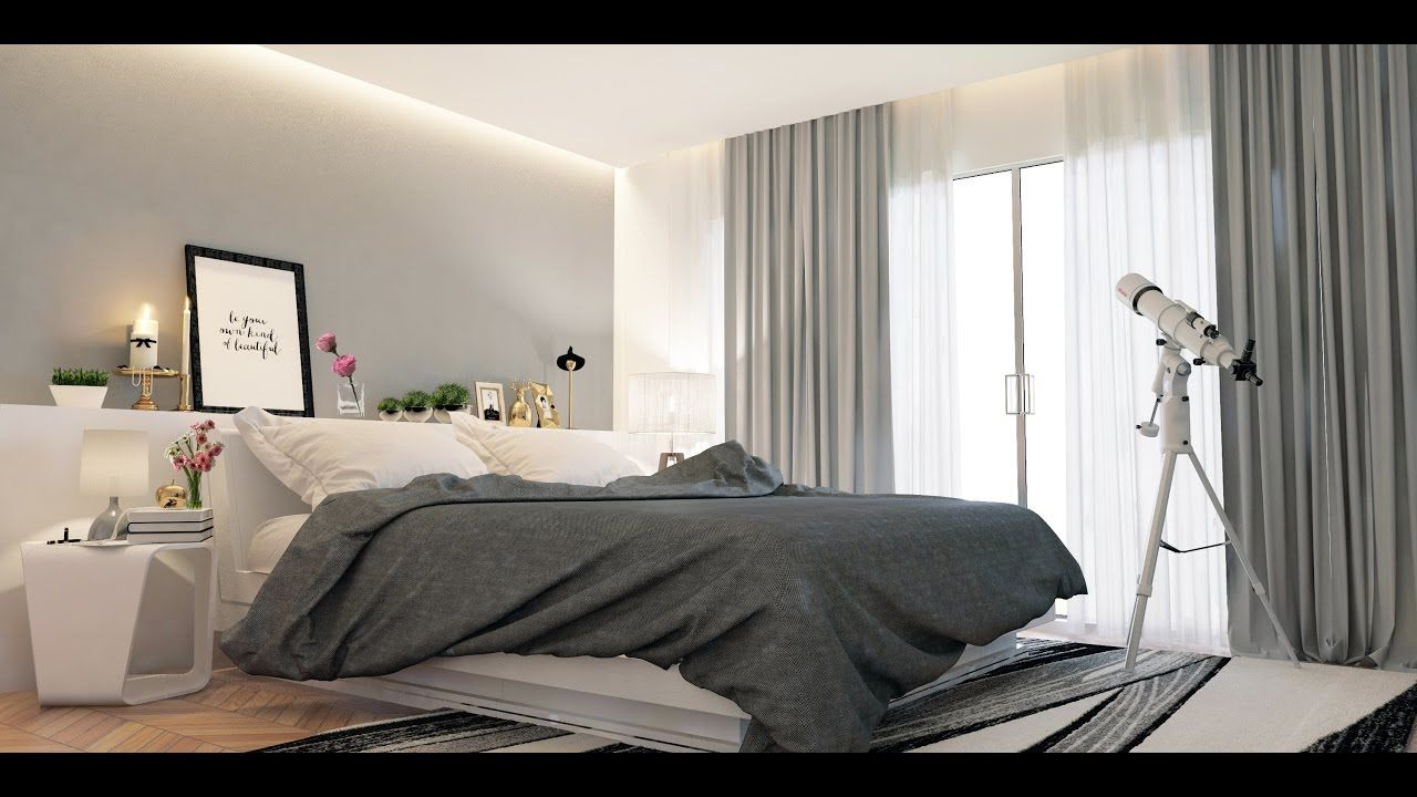 How To Create Bedroom In 3ds Max Vray Modeling Vray Lighting Vray