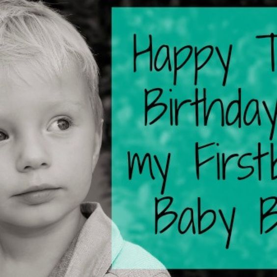 Happy Third Birthday To My First-Born Son (With Images