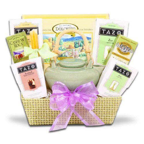 Soothing Zen Tea Gift Set W/ Tazo Tea And Walker's Cookies