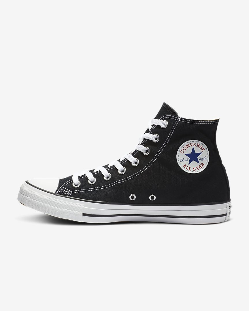 6d891473f03 Natalie is Size 6 Women. Converse Chuck Taylor All Star High Top Unisex Shoe
