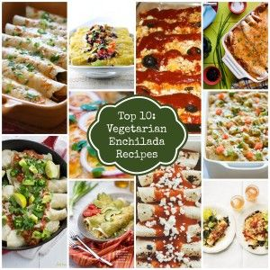 Last week I featured a Top 10 Taco Recipes post with tacos that included chicken, beef or pork. This week I've put together a round-up of ten delicious vegetari