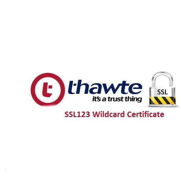 Thawte Ssl123 Wildcard Certificate At 149 Thawte Ssl123