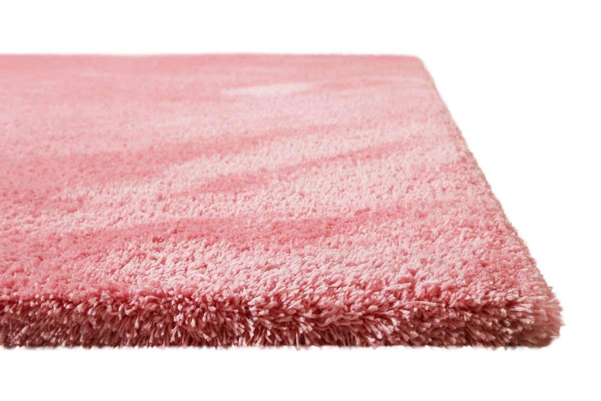 Teppich Rosa Soft Weich Hochflor Tivoli Homie Living Teppich Rosa Teppich Altrosa Teppich